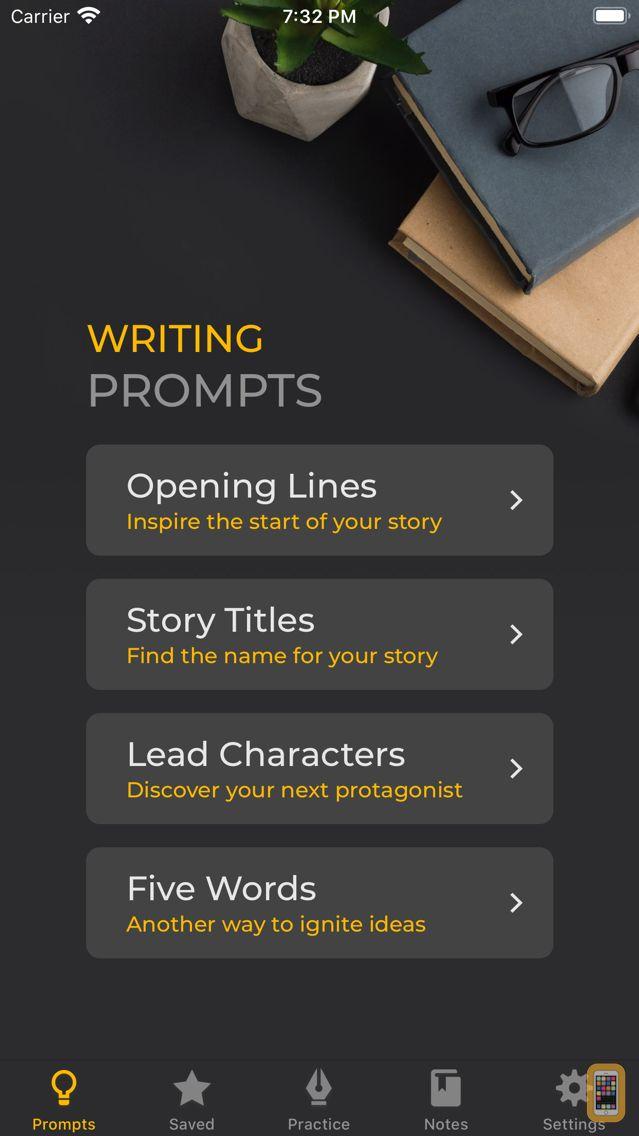 Screenshot - iDeas for Writing