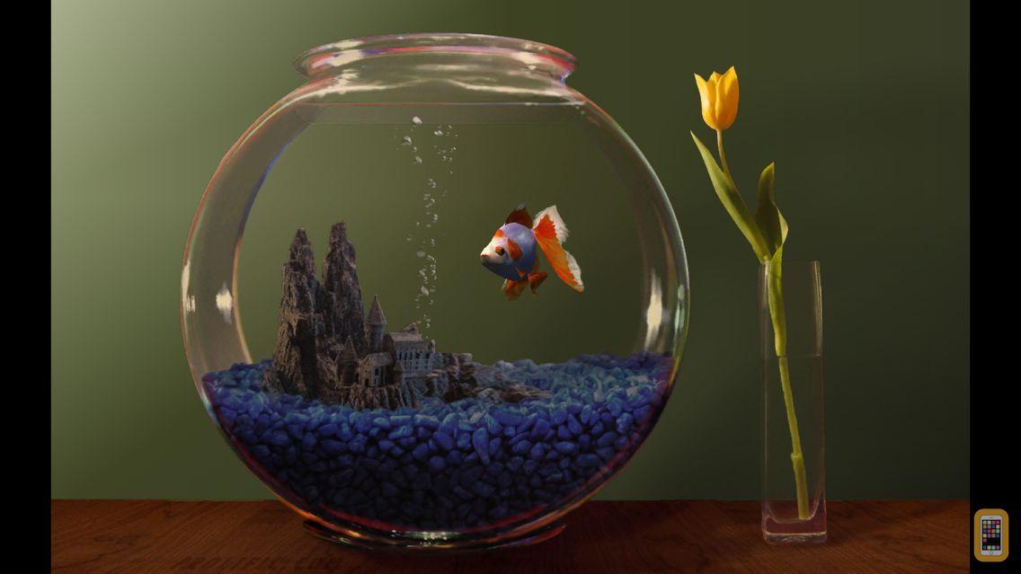 Goldfish aquarium for iphone ipad app info stats for Petit aquarium rond