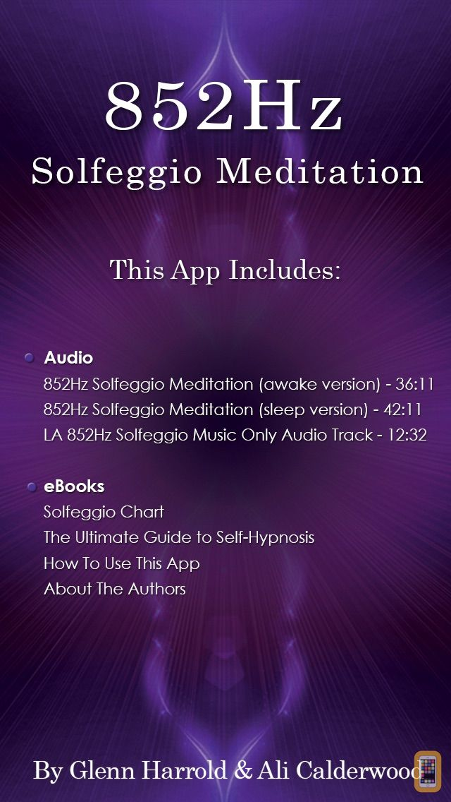 Screenshot - 852Hz Solfeggio Sonic Meditation by Glenn Harrold & Ali Calderwood