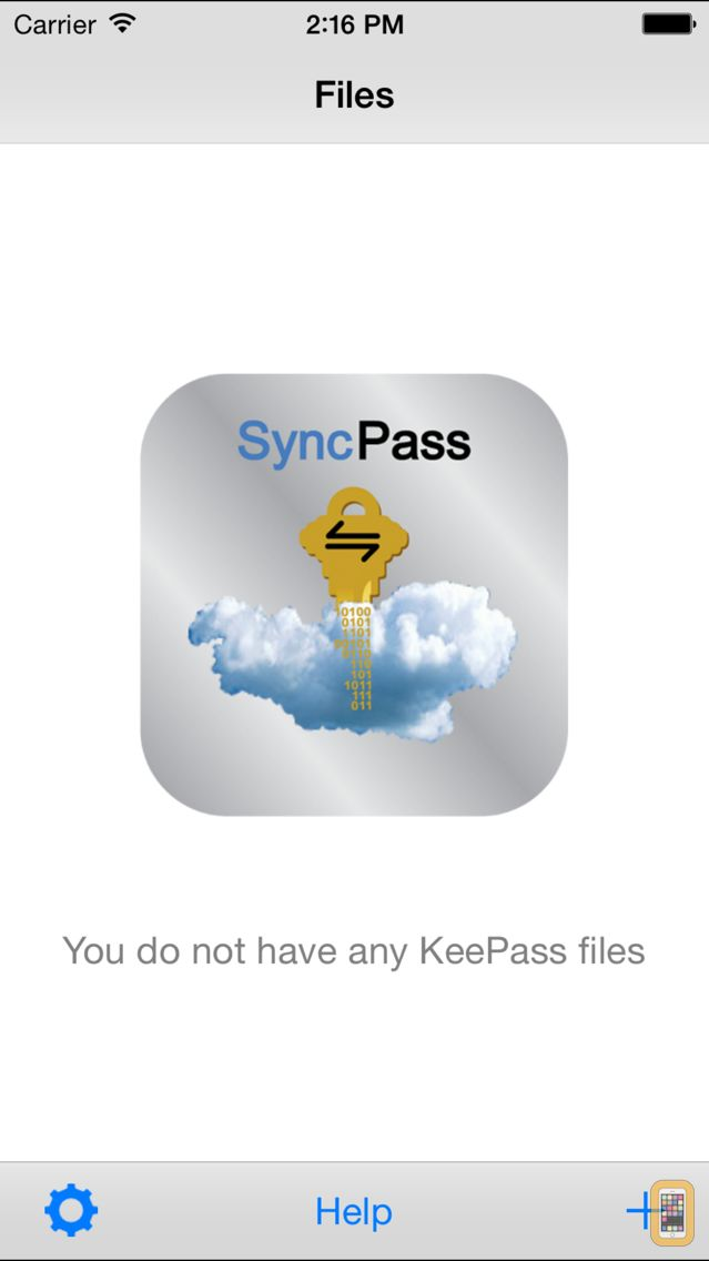 Screenshot - SyncPass