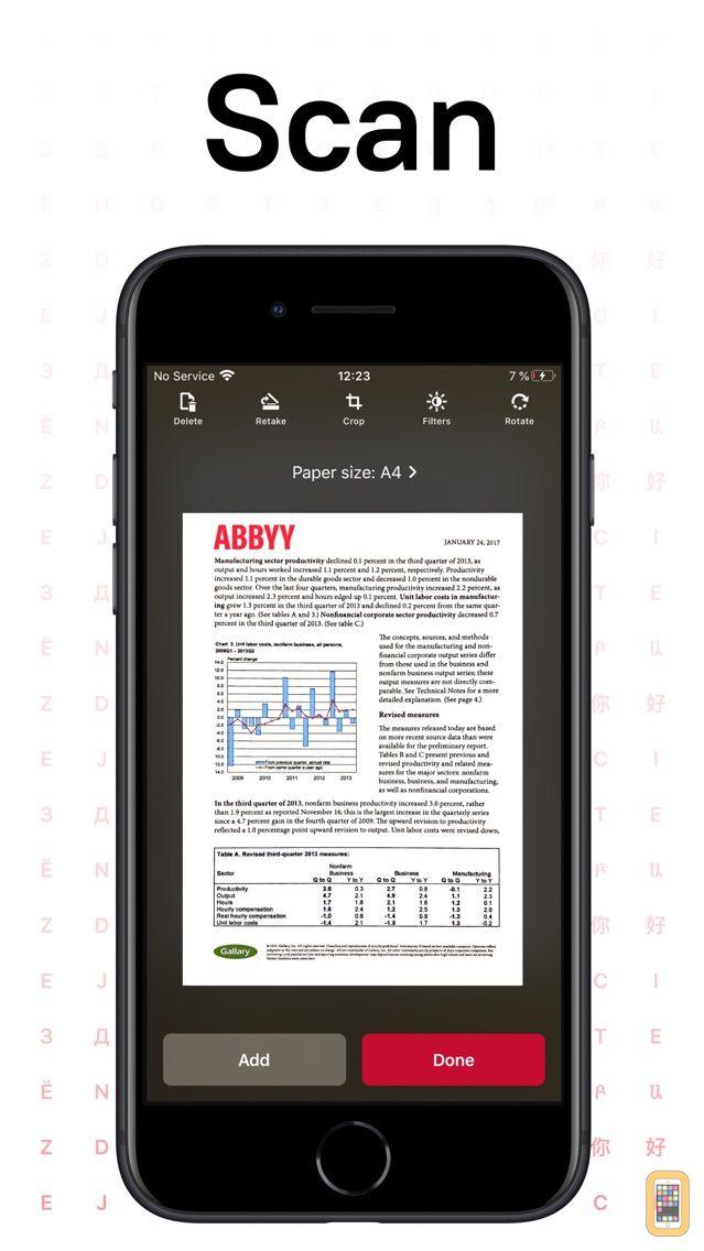 Screenshot - FineScanner: PDF Document Scan