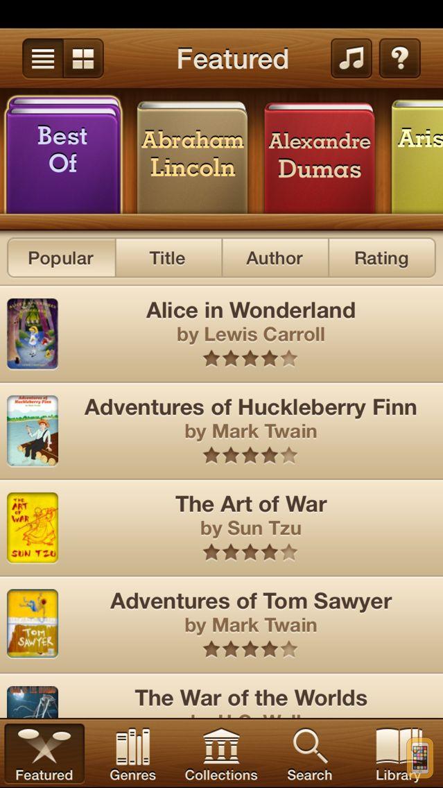 Screenshot - Free Audiobooks Pro- 4,727 audiobooks to go.