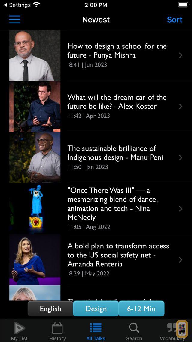 Screenshot - TEDICT