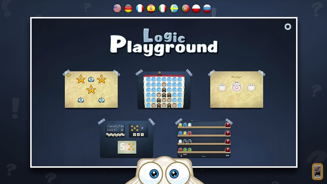Screenshot - Playground 2 - Smart Kids Edition. 6 logic games for kids aged 4-7 years in 1 App.