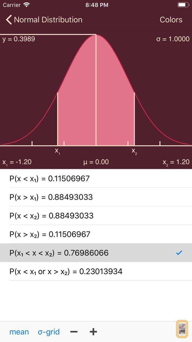 Screenshot - Statistics Calculator++