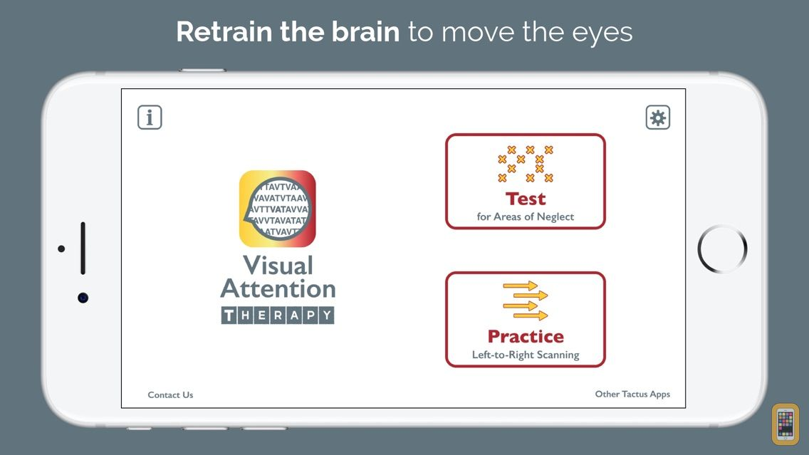 Screenshot - Visual Attention Therapy