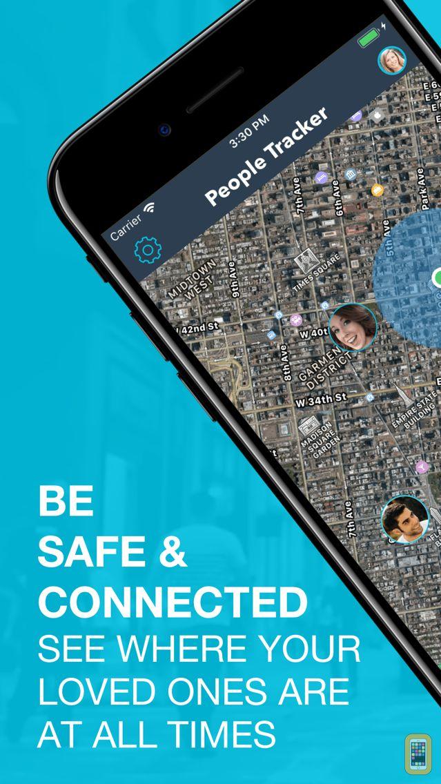Screenshot - People Tracker - GPS Locator