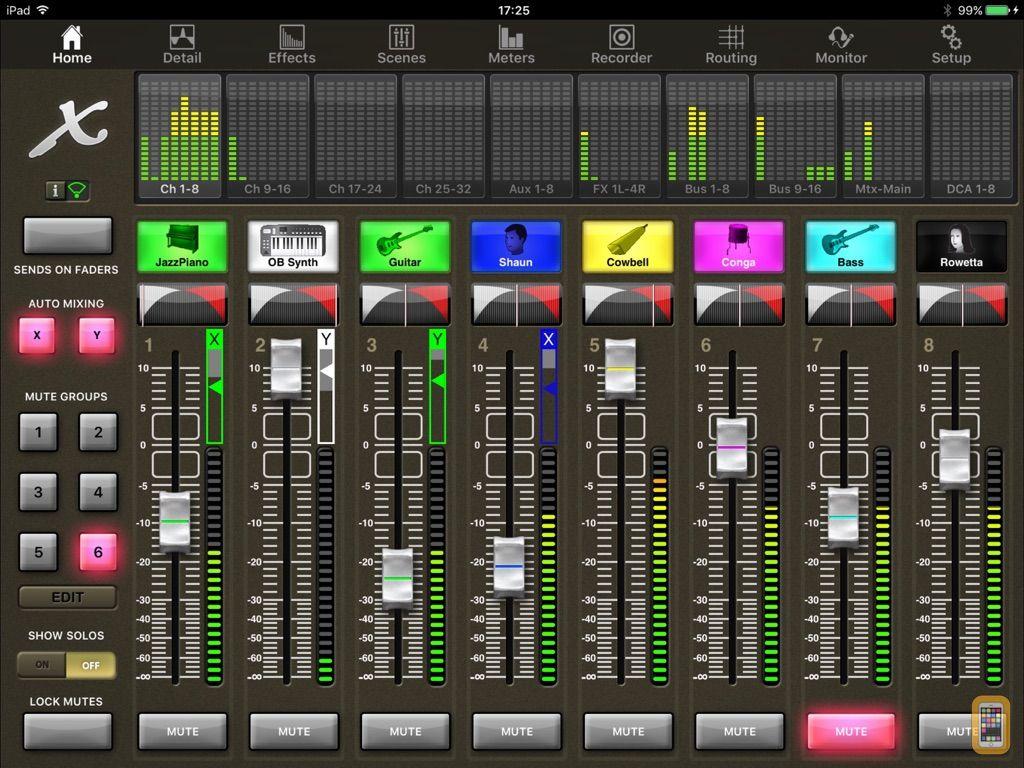 Screenshot - X32-Mix