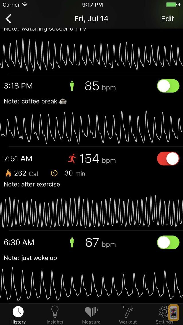Screenshot - Cardiio: Heart Rate Monitor