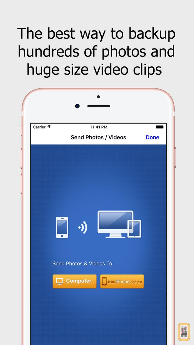 Screenshot - Wireless Transfer App:Sync backup photo and video