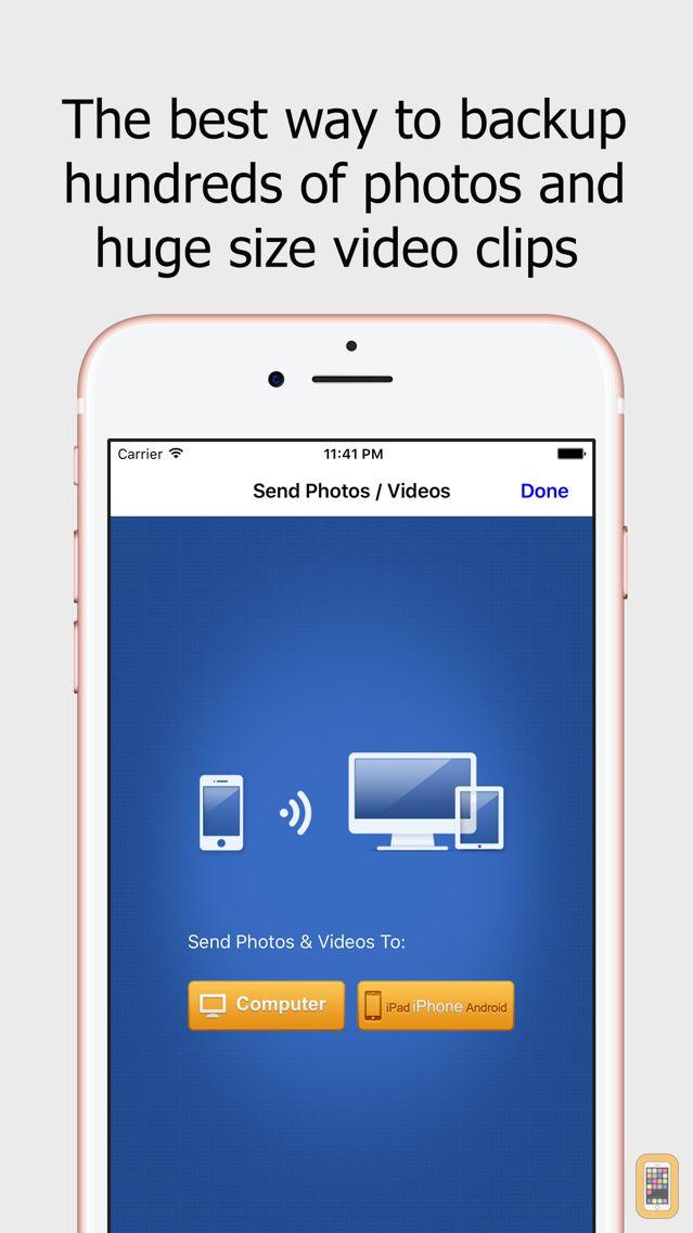 Screenshot - Wireless Transfer