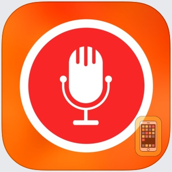 Speech Recogniser: Convert your voice to text with this dictation app. by Anfasoft (iPhone)