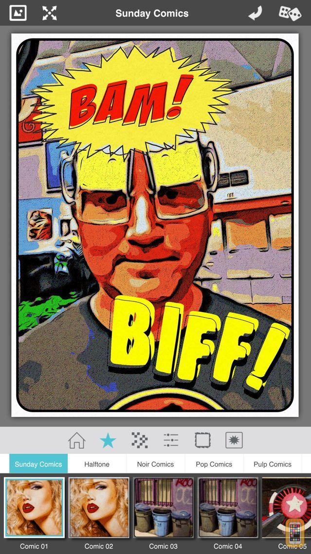 Screenshot - Pop Dot Comics