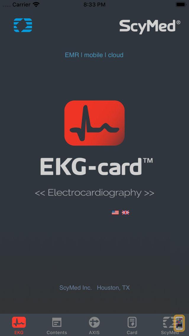 Screenshot - EKG-card