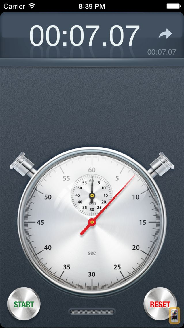 Screenshot - Stopwatch+ for Track & Field
