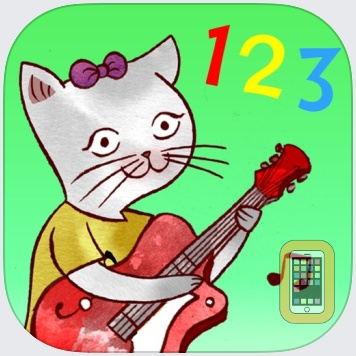 Jazzy 123 - Count with Music by The Melody Book (Universal)