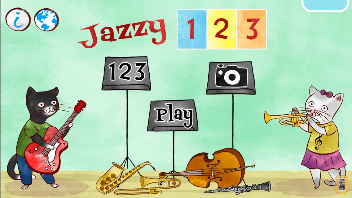 Screenshot - Jazzy 123 - Count with Music