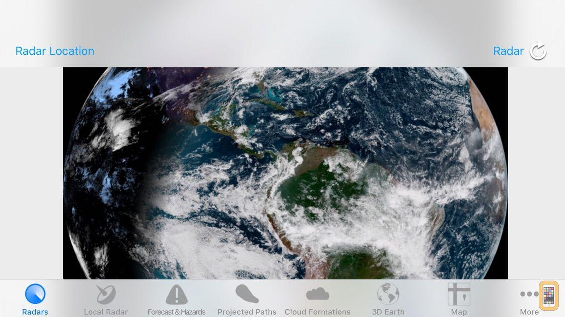 Screenshot - Hurricane Track+ Storm Tracker