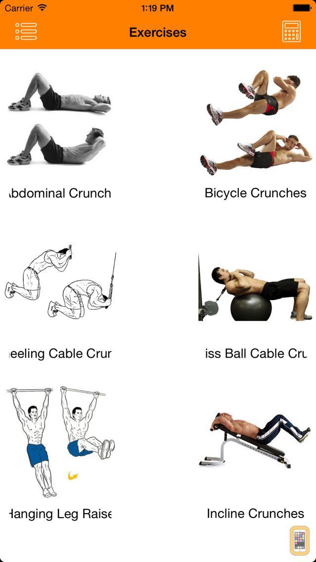 Screenshot - Complete Gym Guide Lite