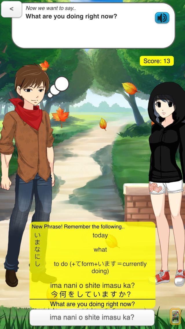 Screenshot - StudyChat Japanese - Learn Speaking Listening Game