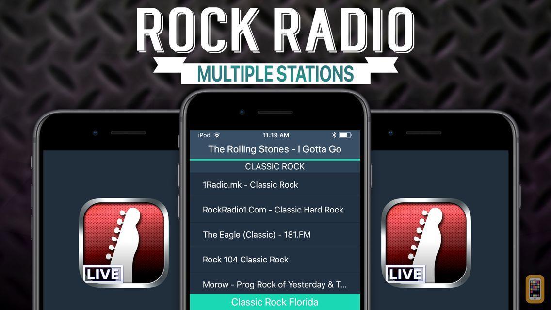 Screenshot - Rock Radio!