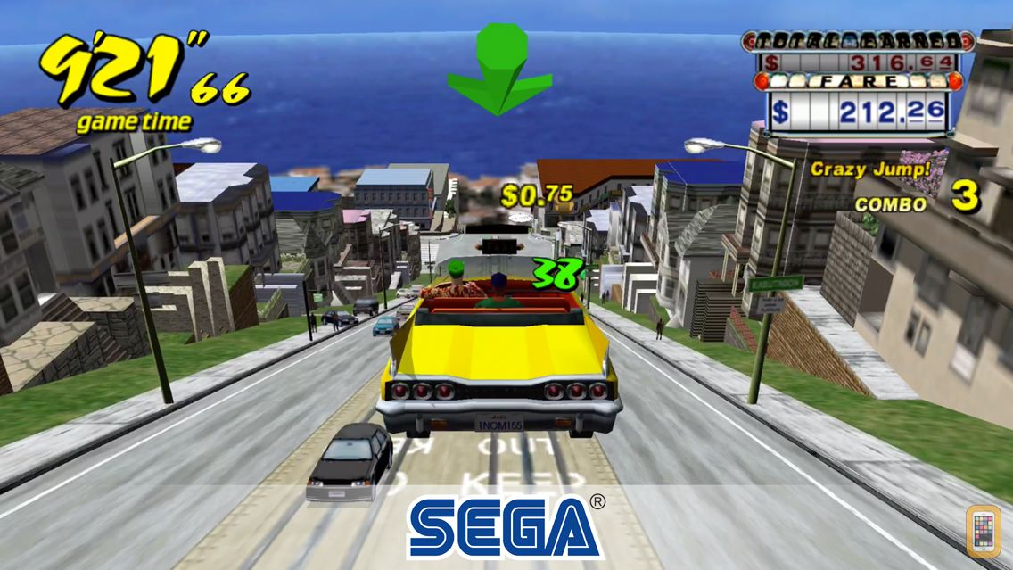Screenshot - Crazy Taxi Classic