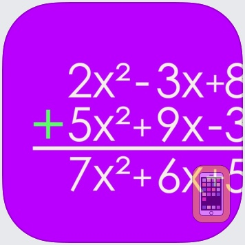 Polynomial Addition and Subtraction by Esa Helttula (iPad)
