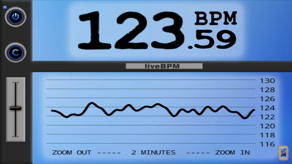 Screenshot - liveBPM - Beat Detector