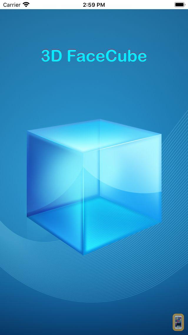 Screenshot - 3D FaceCube for Facebook