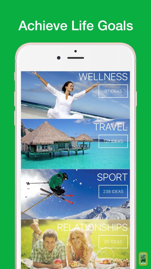 Screenshot - iWish - Life Goals, Wishlist, Bucket List