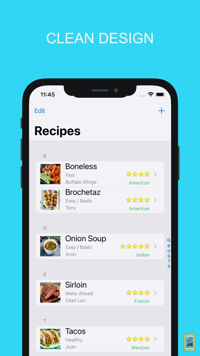 Screenshot - Kitchenbook Pro