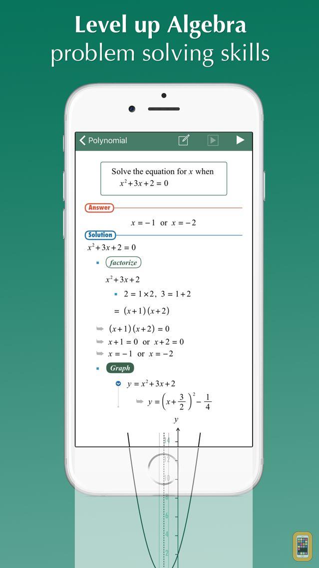 Screenshot - FX Algebra Solver