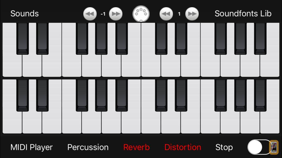 Screenshot - midi Keyboard