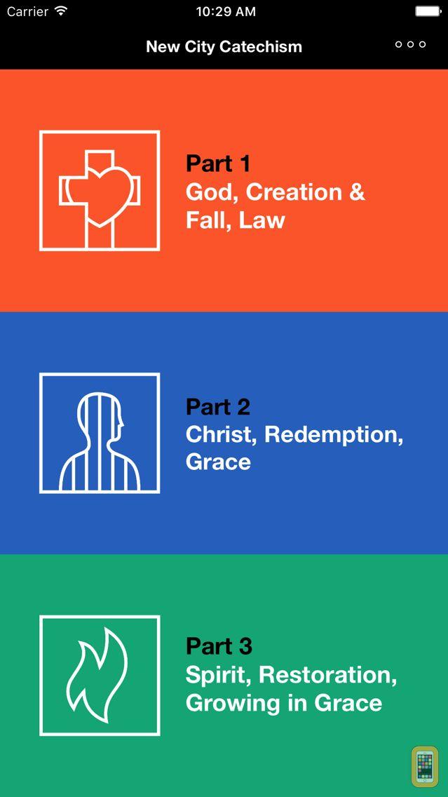 Screenshot - New City Catechism