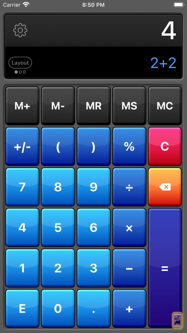 Screenshot - Calculator HD Pro