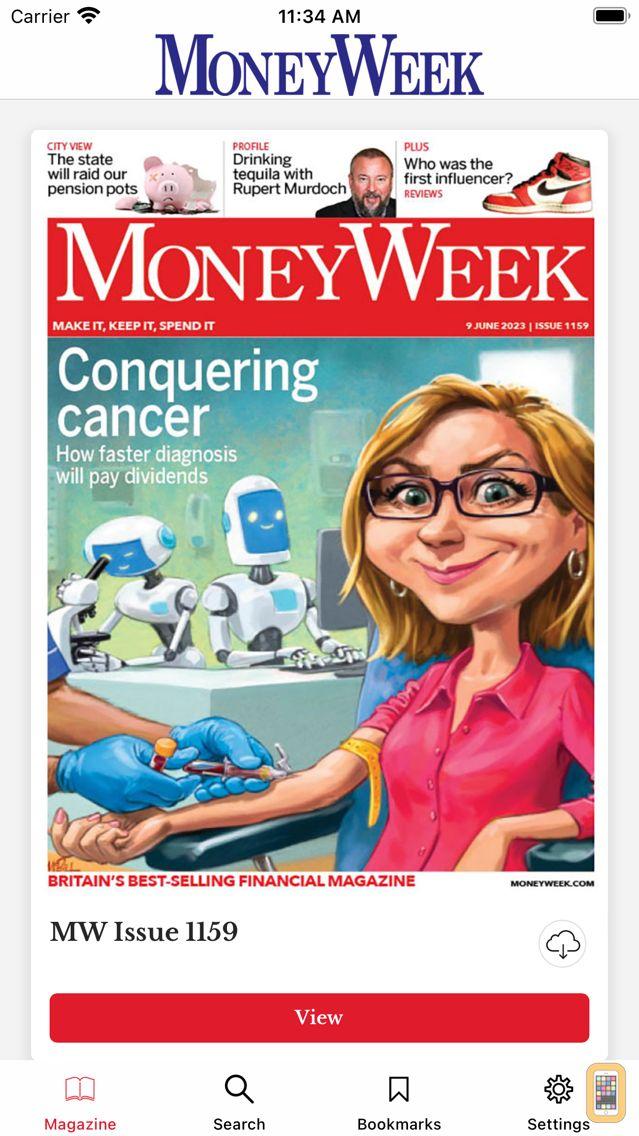 Screenshot - MoneyWeek