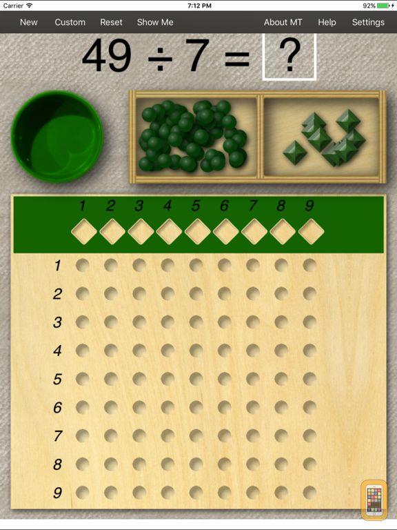 Screenshot - Montessori Division Board