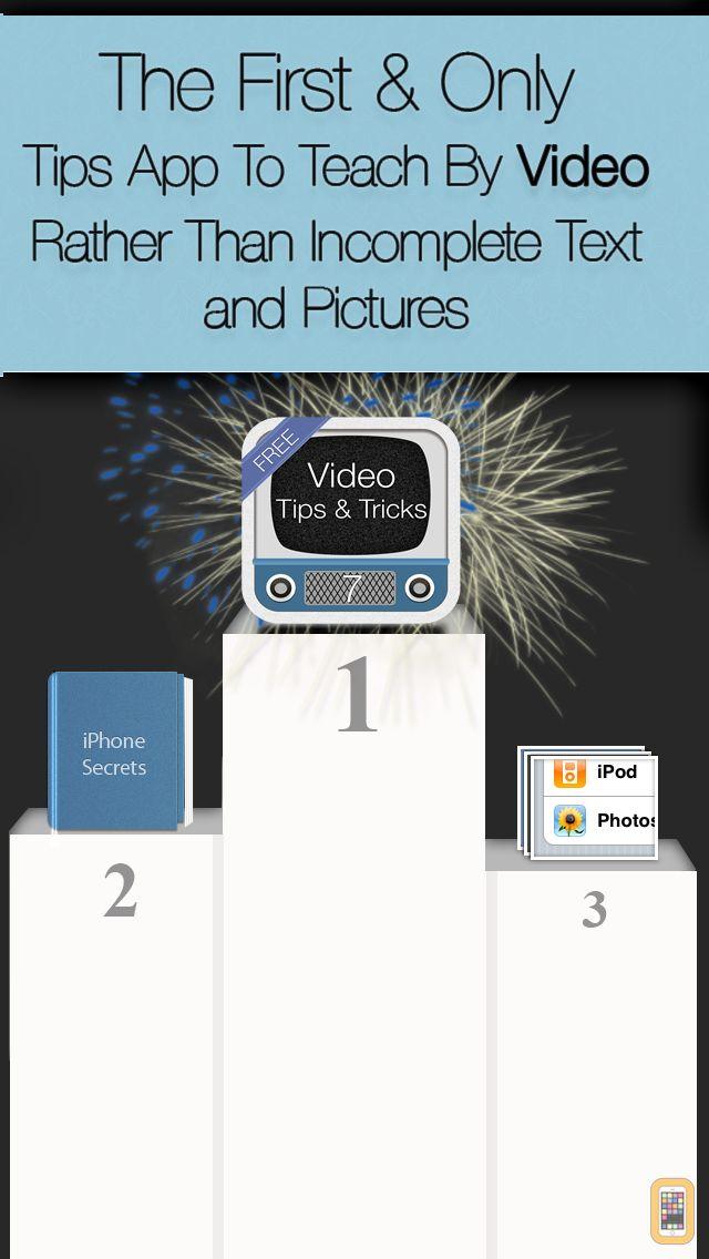 Screenshot - Tips & Tricks for iOS 7 & iPhone: Video Secrets Free