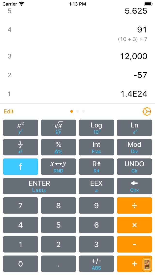 Screenshot - Calculator RPN