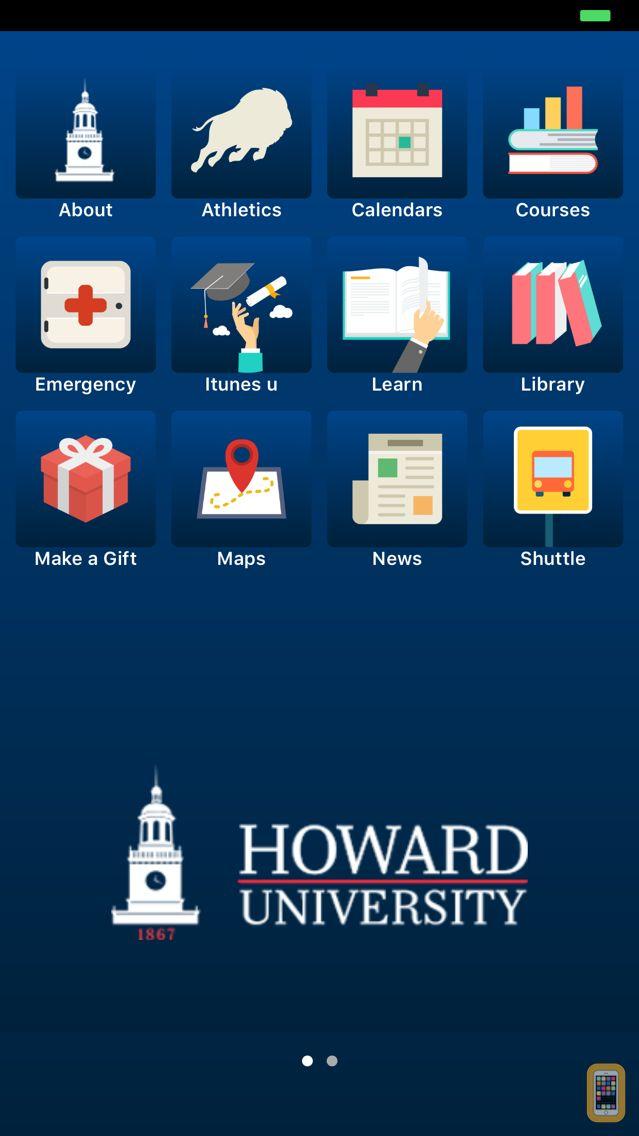 Screenshot - HowardMobile