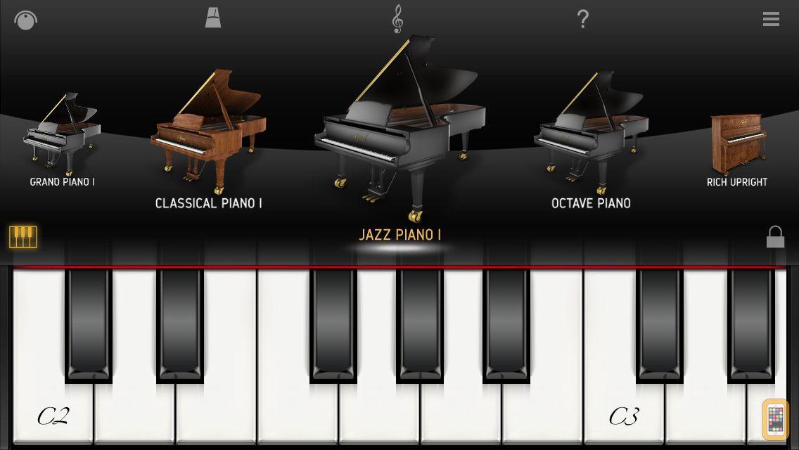Screenshot - iGrand Piano