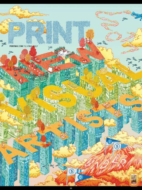 Screenshot - Print Magazine
