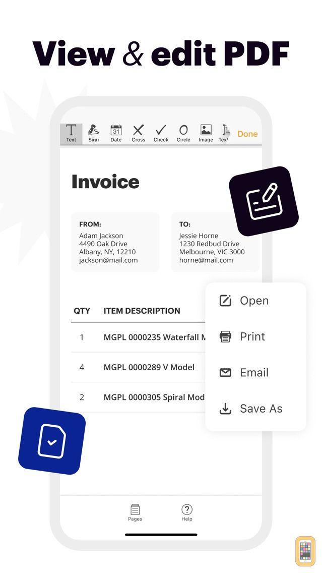 Screenshot - pdfFiller: Document editor&pdf