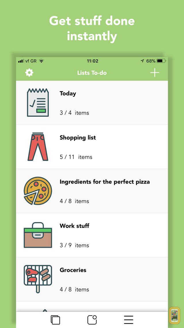 Screenshot - Lists To do
