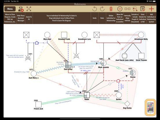 Screenshot - iGenogram: Genogram Editor