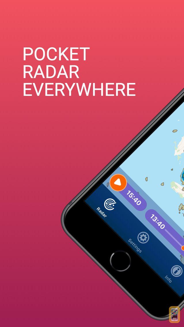 Screenshot - PocketRadar - my weather radar
