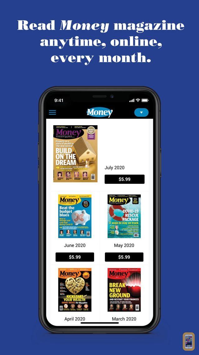 Screenshot - Money Magazine Australia