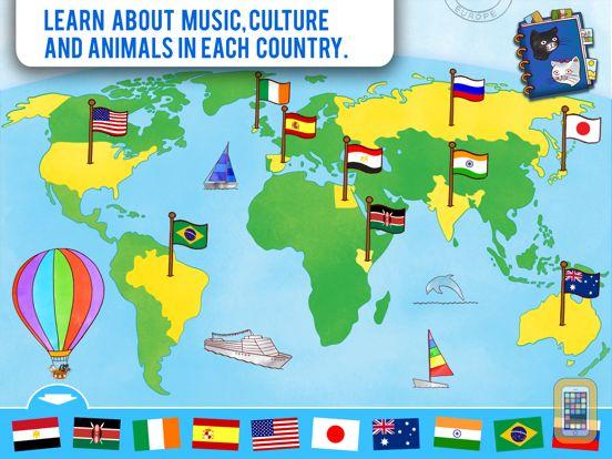 Screenshot - Jazzy World Tour FREE - A Musical Journey for Kids