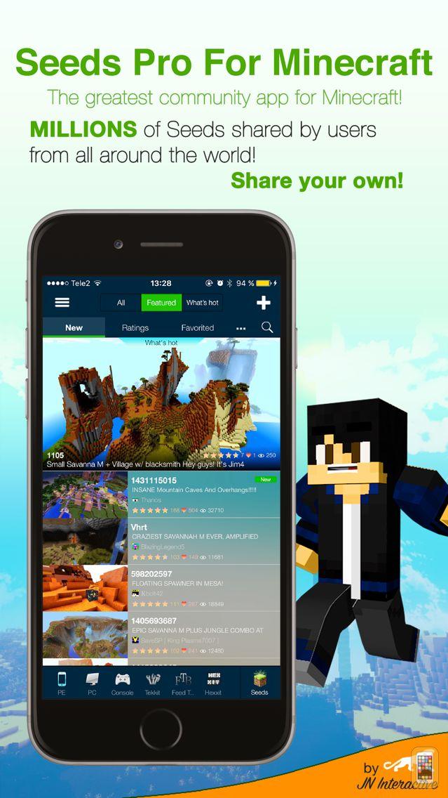 Screenshot - Minecraft Seeds Lite