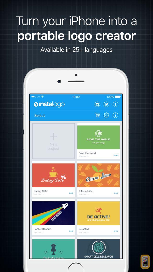 Screenshot - InstaLogo Logo Creator - Graphic design maker